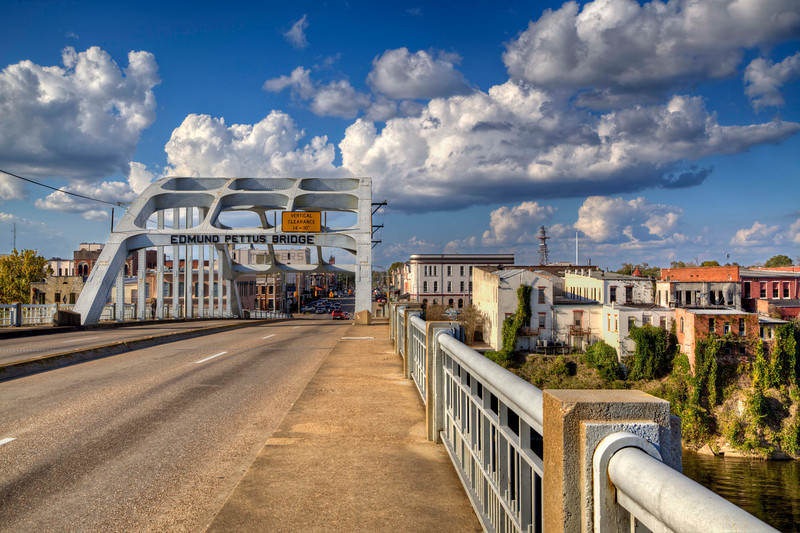 """On The Edmund Pettus Bridge"""