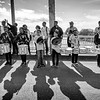 Drumline on the Edmund Pettus Bridge, March 1, 2020