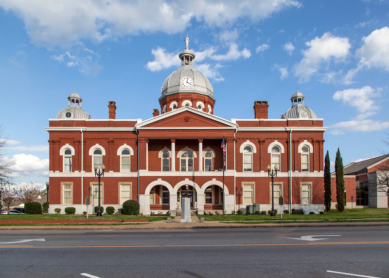 Chambers County Courthouse, 1899!   The Clock in the dome, 1836!