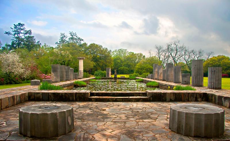 Greek Columns, Jasmine Hills Gardens!