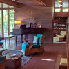 Living Space at the FLW designed Rosenbaum House