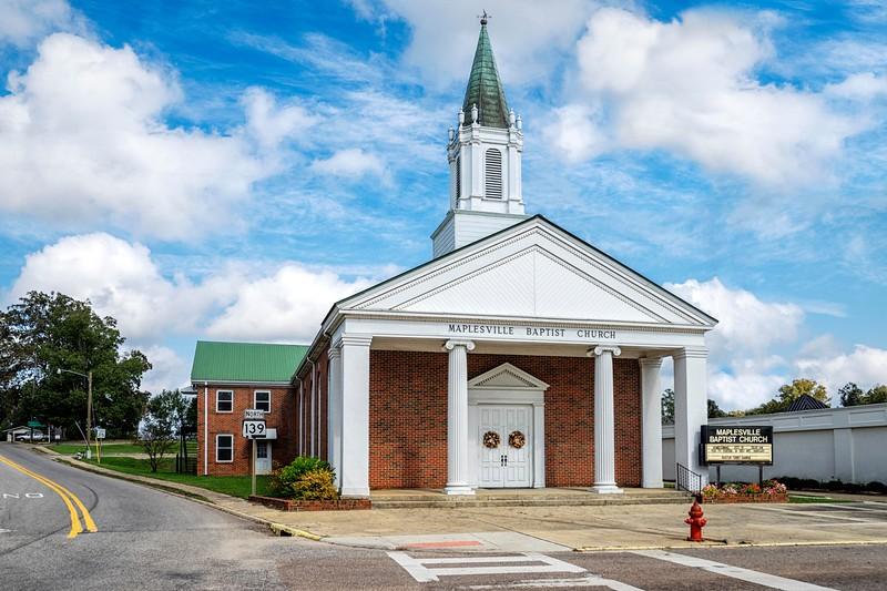 Maplesville Baptist Church!