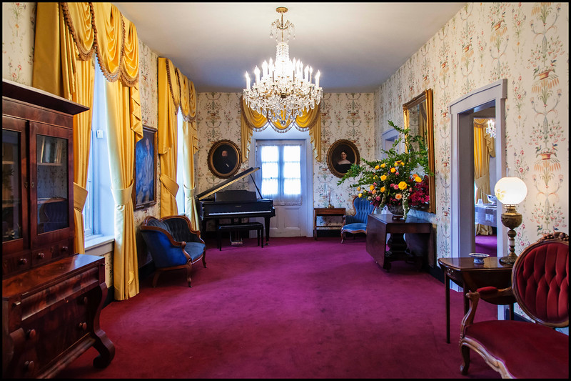 Piano Room, Joseph T. Smitherman Historic Home!