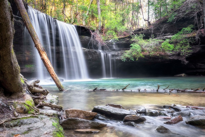 Caney creek falls!