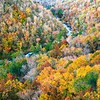 Autumn Foliage in Little River Canyon!