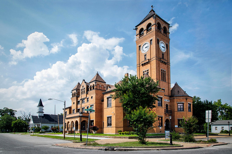 Macon County Courthouse, 1905!