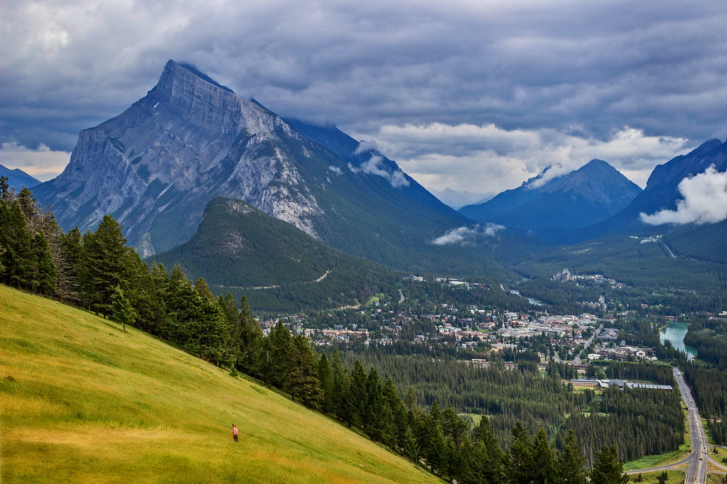 The Town of Banff (Banff National Park)