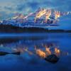 Foggy Morning over Two Jack Lake (Banff National Park)