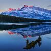 Sunrise at Two Jack Lake (Banff National Park)