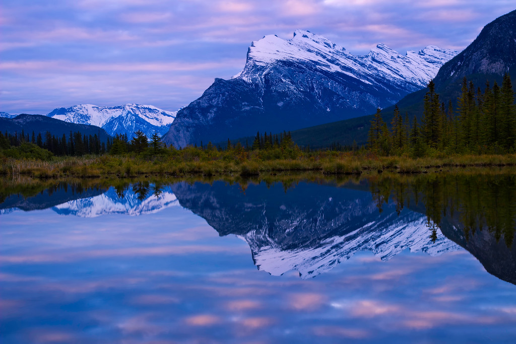 Mount Rundle at Sunrise (Banff National Park)