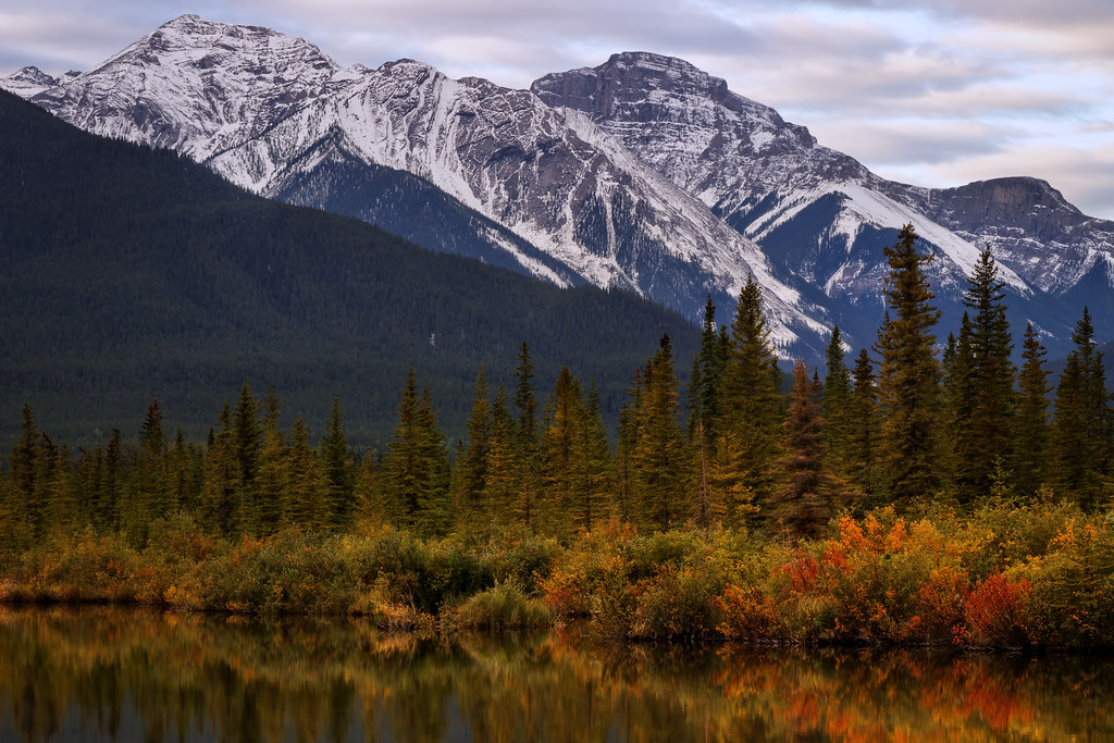 Autumn in the Canadian Rockies (Banff National Park)