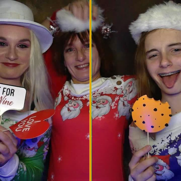 Alicja Photography  Ugly Sweater Photo Booth Party
