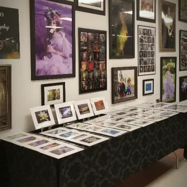 Alicja Photography Booth at Open Studio Hartford Event