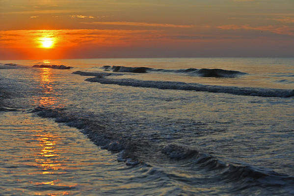 Sunrise in Hilton Head, SC.