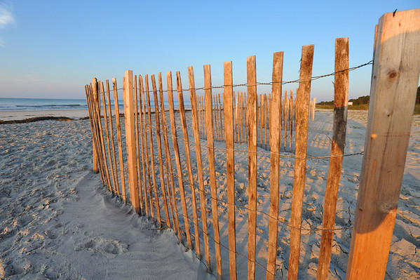 """Fenced Beach II"" Hilton Head, SC."
