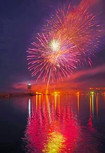 Fishermans Picnic Fireworks