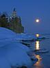 Valentine's Day Moonrise at Split Rock 003