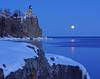 Valentine's Day Moonrise at Split Rock 001B