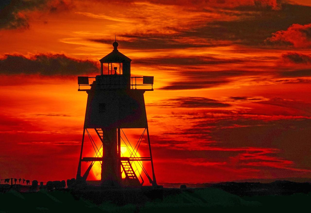 Grand Marais Sunset 001