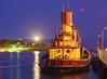 Moonrise Edna G Tugboat 001