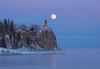 Split Rock Moonrise 005