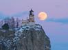Split Rock Moonrise 003
