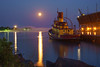 Agate Bay Moonrise 003