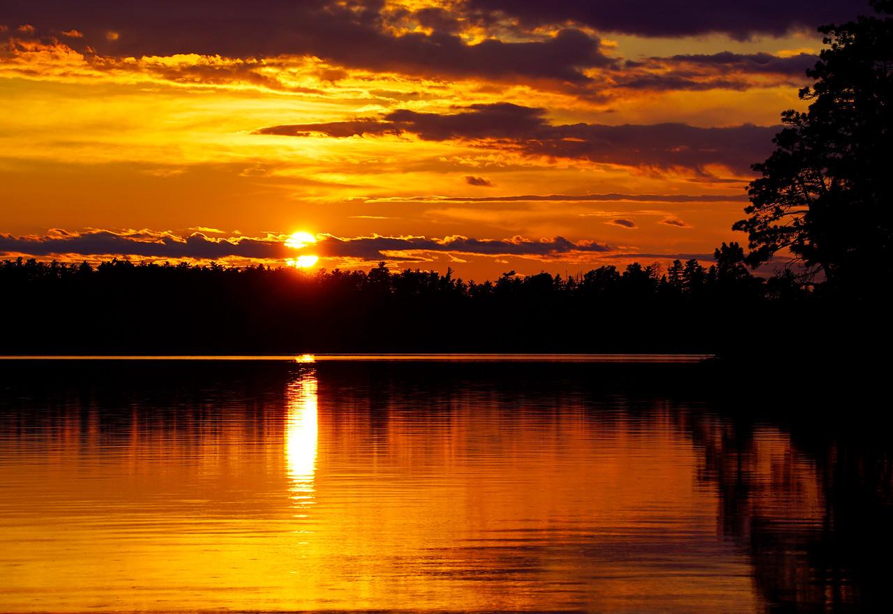 Sag Lake Sunset