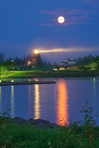 Agate Bay Moonrise 002