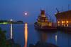 Agate Bay Moonrise 004