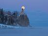 Split Rock Moonrise 004