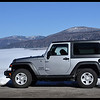 """Our Jeep Wrangler """"JW"""" at 28 Degrees and 9,000 feet."""