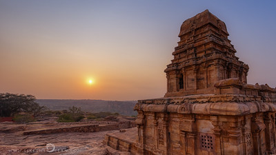 Sunrise by Shivalaya Temple