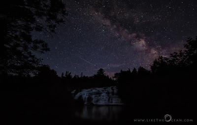 Majestic Milky way @ Bond Falls