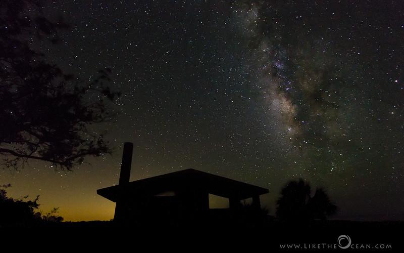 Cosmic View by Backyard