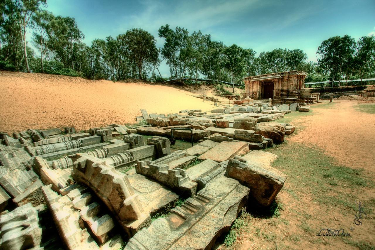 Submerged Temple of Talakadu