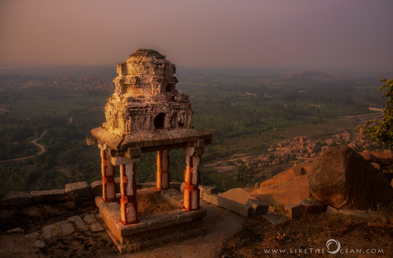 Hampi–In Dawn's first light