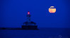 Super Moon Lighthouse