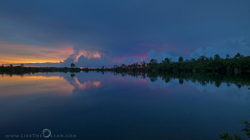 Striking Sunset @ Everglades
