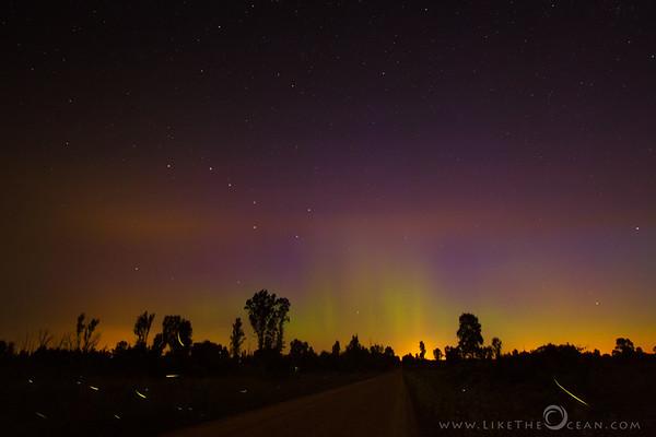 Road to Aurora, accompanied by Fireflies