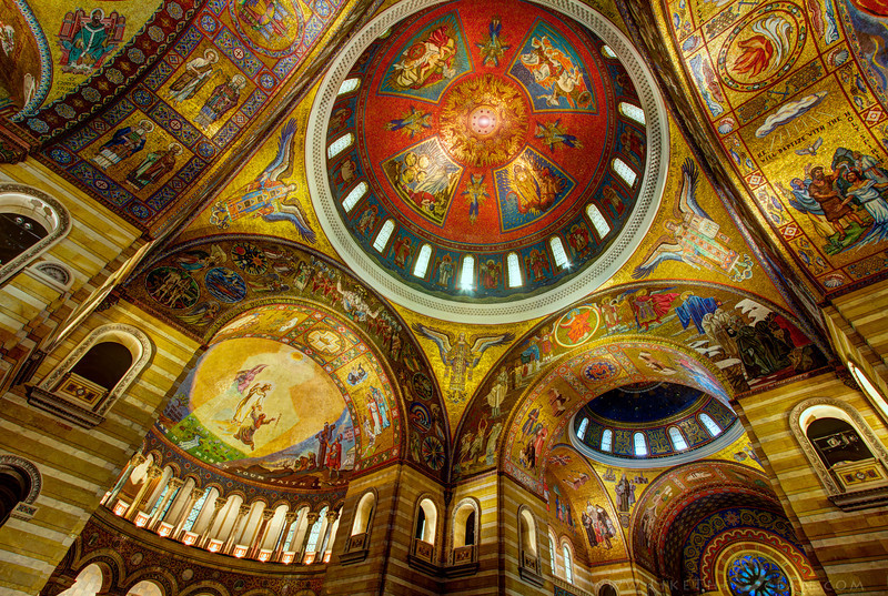Beautiful Basilica from St Louis