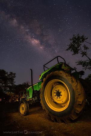 John Deere & Milky Way