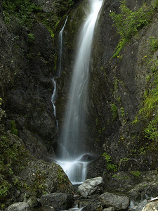 Waterfall near Mount Washington, Olympic National Forest, Washington.