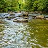 broad river water flow through blue ridge mountains