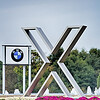 SPARTANBURG SC - October 2015   sign at the BMW assembly plant in Spartanburg, South Carolina on July 28, 2012. The BMW X3, X5 and X6 are assembled at the plant.