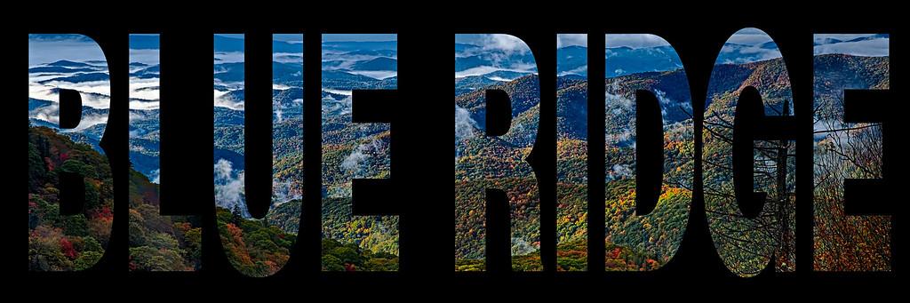 blue ridge parkway text word photo