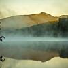 Grandfather Mountain Sunrise Reflections on Julian Price Lake in the Blue Ridge Mountains of Western North Carolina