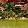 lpanoramic landscapes of san juan river in utah