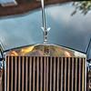 YORK SC - Sept 2015: The emblem of Rolls-Royce at Summerfest 2015 classic car show  in York City South Carolina