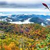 Blue Ridge Parkway National Park Sunrise Scenic Mountains Autumn Landscape